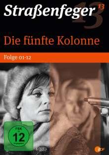 Straßenfeger Vol.13: Die fünfte Kolonne Vol. 1 (Folgen 1-12), 4 DVDs