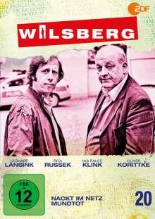 Wilsberg DVD 20: Nackt im Netz / Mundtot, DVD