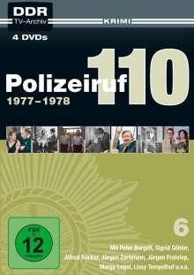 Polizeiruf 110 Box 6, 4 DVDs