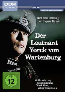 Der Leutnant Yorck von Wartenburg, DVD