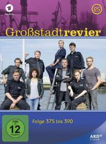 Großstadtrevier Box 25, 4 DVDs