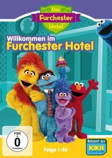 Sesamstraße: Das Furchester-Hotel - Willkommen im Furchester-Hotel Vol. 1 (Folgen 1-26), 2 DVDs