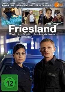 Friesland: Mörderische Gezeiten / Familiengeheimnisse / Klootschießen, DVD