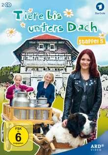 Tiere bis unters Dach Staffel 5, 2 DVDs
