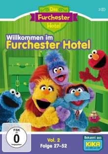 Sesamstraße: Das Furchester-Hotel - Willkommen im Furchester-Hotel Vol. 2 (Folgen 27-52), 2 DVDs