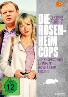 Die Rosenheim-Cops Staffel 15, 7 DVDs