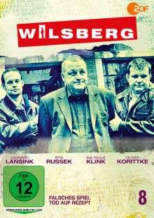 Wilsberg DVD 8: Falsches Spiel / Tod auf Rezept, DVD