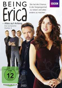 Being Erica - Alles auf Anfang Staffel 3, 3 DVDs
