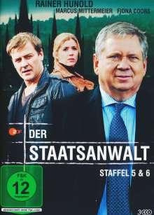 Der Staatsanwalt Staffel 5 & 6, 3 DVDs