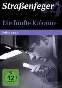 Straßenfeger Vol.14: Die fünfte Kolonne Vol. 2 (Folgen 13-23), 4 DVDs