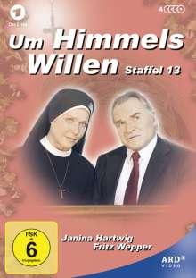Um Himmels Willen Staffel 13, 4 DVDs