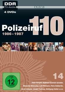 Polizeiruf 110 Box 14, 4 DVDs