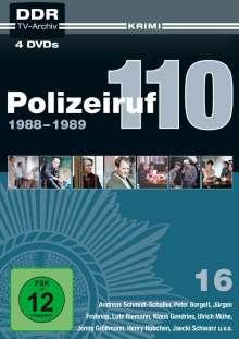 Polizeiruf 110 Box 16, 4 DVDs