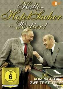 Hallo - Hotel Sacher...Portier! Staffel 2, 3 DVDs