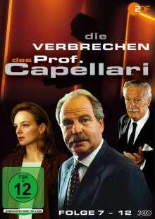 Die Verbrechen des Professor Capellari (Folge 07-12), 3 DVDs