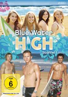 Blue Water High Staffel 1, 4 DVDs