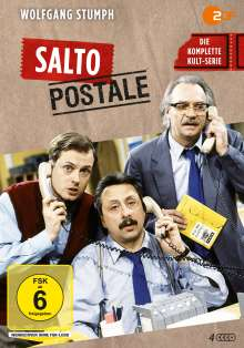 Salto Postale (Komplette Serie), 4 DVDs
