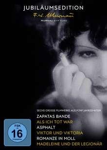 50 Jahre Murnau-Stiftung (Jubiläumsedition), 5 DVDs