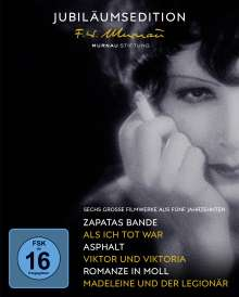 50 Jahre Murnau-Stiftung (Jubiläumsedition) (Blu-ray), 5 Blu-ray Discs