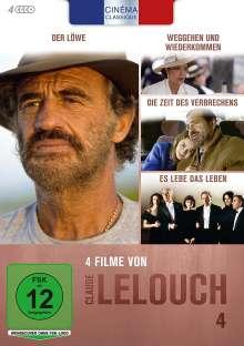 Cinéma Classique Claude Lelouch Box 4, 4 DVDs