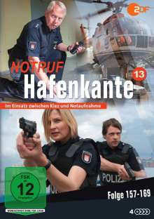 Notruf Hafenkante Vol. 13 (Folge 157-169), 4 DVDs