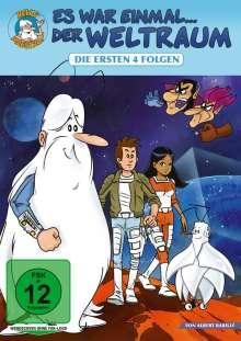 Es war einmal...der Weltraum Folge 1-4, DVD