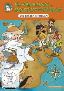 Es war einmal...Abenteurer & Entdecker (Folge 1-5), DVD