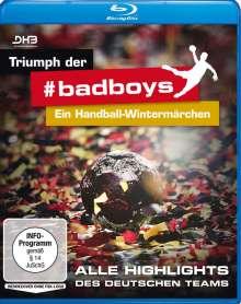 Triumph der #badboys: Ein Handball-Wintermärchen (Blu-ray), Blu-ray Disc