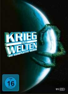 Krieg der Welten (Komplette Serie), 11 DVDs