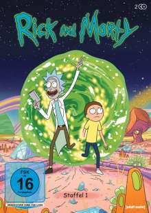 Rick and Morty Staffel 1, DVD