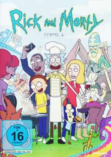 Rick and Morty Staffel 2, 2 DVDs