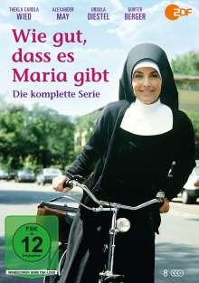 Wie gut, dass es Maria gibt (Komplette Serie), 8 DVDs