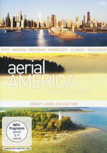 Aerial America - Amerika von oben: Great Lakes Collection, 2 DVDs