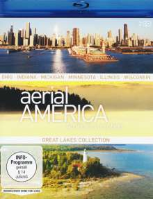 Aerial America - Amerika von oben: Great Lakes Collection (Blu-ray), 2 Blu-ray Discs