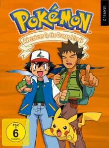 Pokémon Staffel 2: Adventures in the Orange Islands, 7 DVDs