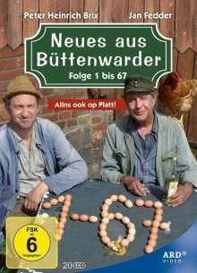 Neues aus Büttenwarder Folgen 1-67, 20 DVDs