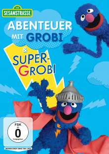 Sesamstrasse: Abenteuer mit Grobi & Supergrobi, DVD