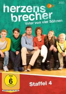 Herzensbrecher Staffel 4, 3 DVDs