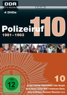 Polizeiruf 110 Box 10, 4 DVDs