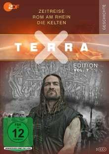 Terra X Vol. 7: Zeitreise / Rom am Rhein / Die Kelten, 3 DVDs