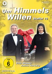 Um Himmels Willen Staffel 15, 4 DVDs
