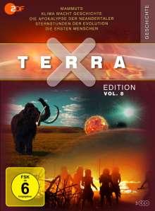 Terra X Vol. 8: Mammuts / Klima macht Geschichte / Die Apokalypse der Neandertaler / Sternstunden der Evolution / Die ersten Menschen, DVD