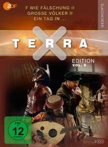 Terra X Vol. 9: F wie Fälschung II / Große Völker II / Ein Tag in..., 3 DVDs
