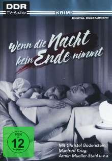 Wenn die Nacht kein Ende nimmt, DVD