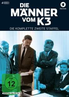 Die Männer vom K3 Staffel 2, 4 DVDs