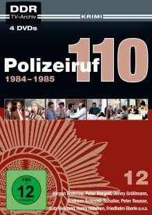 Polizeiruf 110 Box 12, 4 DVDs