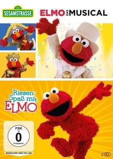 Sesamstrasse: Elmo - Das Musical / Riesenspaß mit Elmo, 2 DVDs