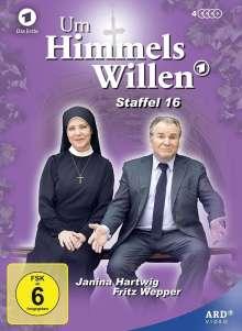 Um Himmels Willen Staffel 16, 4 DVDs