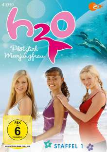 H2O - Plötzlich Meerjungfrau Staffel 1, 4 DVDs