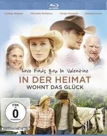 Love finds you in Valentine - In der Heimat wohnt das Glück (Blu-ray), Blu-ray Disc